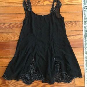 Black FP slip dress
